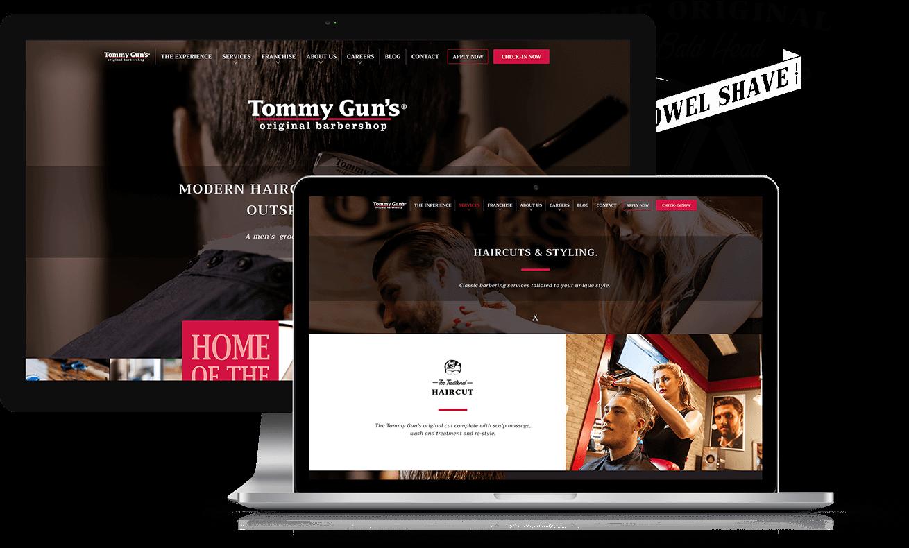 Tommy Guns Portfolio Img